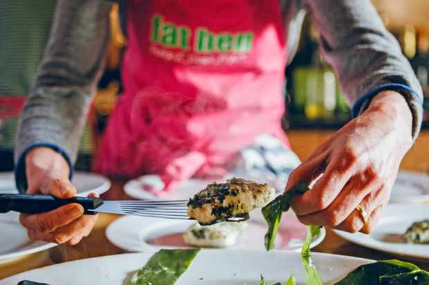 Fat Hen foraging course