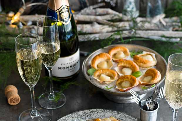 Canapes and Champagne winners in olive Christmas supermarket awards