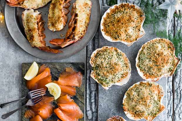 Standout starters and smokd salmon from olive Christmas supermarket awards
