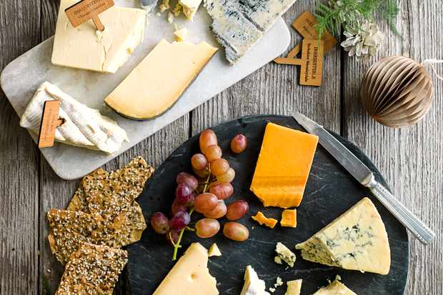 Ready cheese boards from olive's Christmas supermarket awards