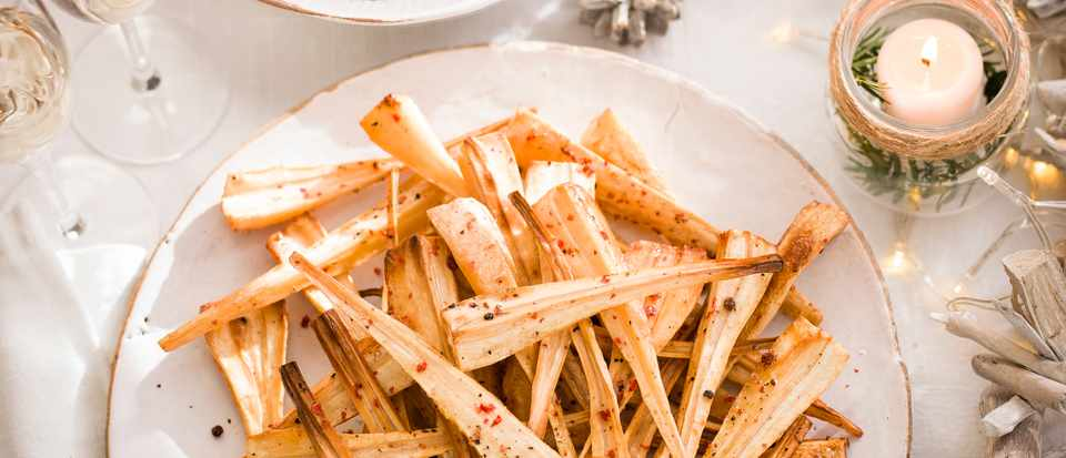 Salt And Pepper Parsnips Recipe