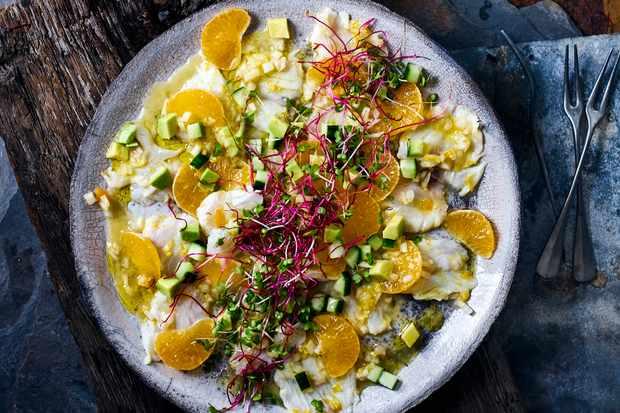 Satsuma Sea Bass Ceviche
