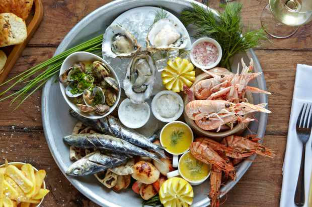 Seafood Platter at The Master Builder's at Bucklers Hard, New Forest (credit The Master Builder's at Bucklers Hard)