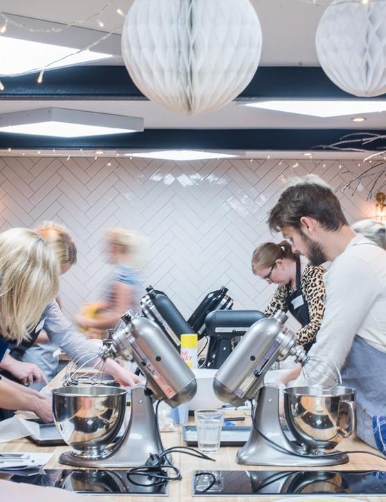 John Whaite kitchen's festive showstopper