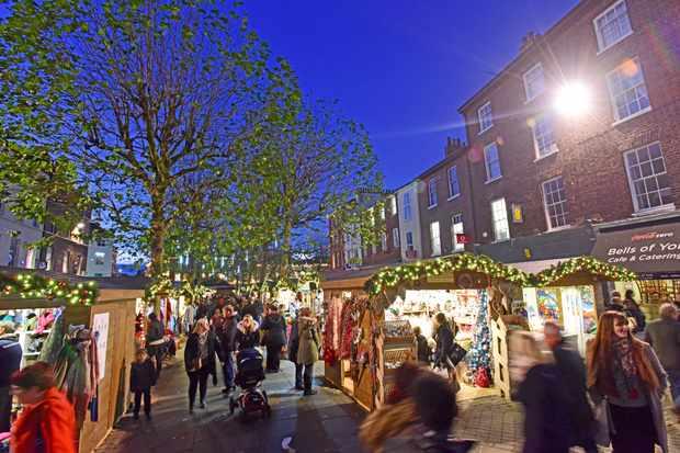 York St Nicholas Christmas market