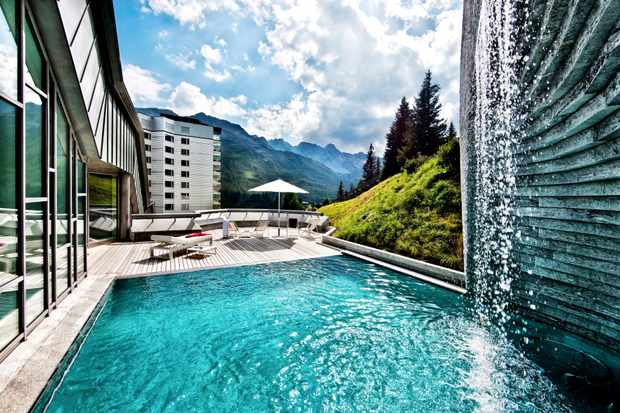 Tschuggen grand, Arosa, Switzerland