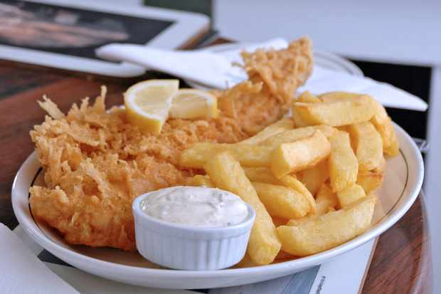 fish and chips from magpie cafe whitby