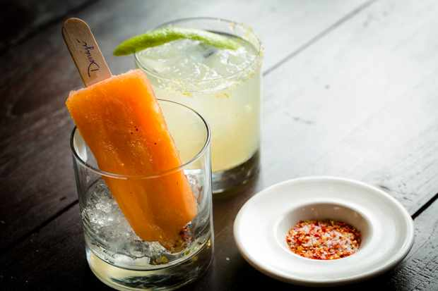 Boozy Popsicle with tequila blanco from gracias madre LA