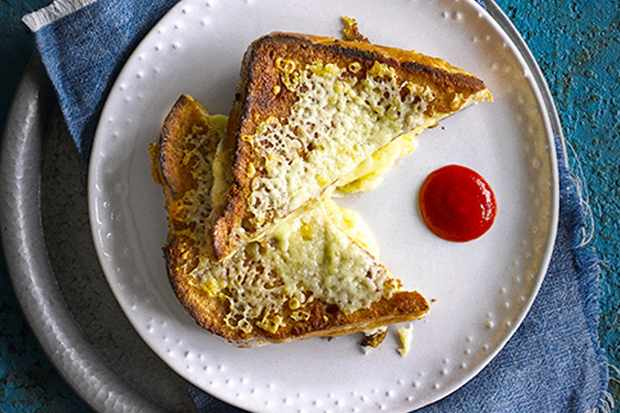 grilled cheese eggy bread