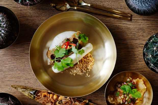 Kiin Kiin Bao Bao food