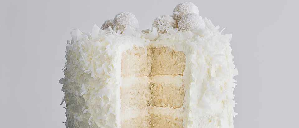 Snowball Cake (Coconut Cake Recipe)