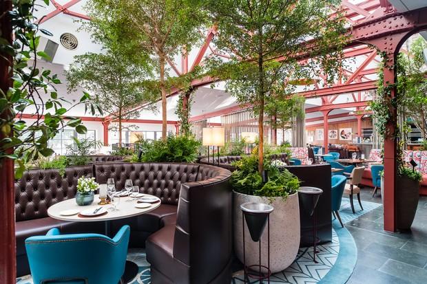 Bluebird restaurant interior