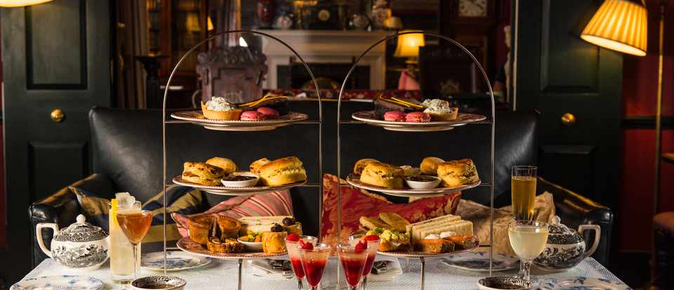 Seymour's Parlour, The Zetter Townhouse Marylebone: Afternoon Tea Review