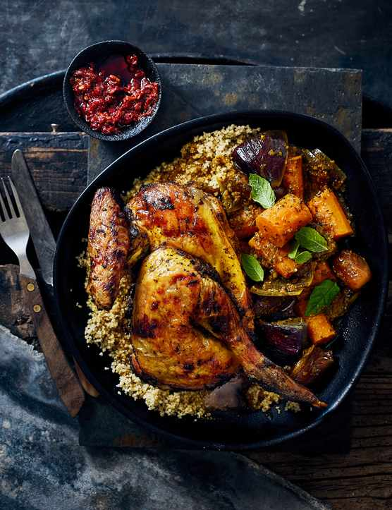 Guinea Fowl Tagine Recipe