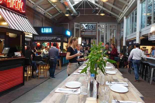 Amsterdam indoor market