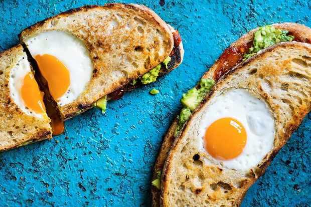 Avocado Egg In A Hole Recipe