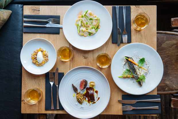 A selection of dishes at The Gannet in Glasgow