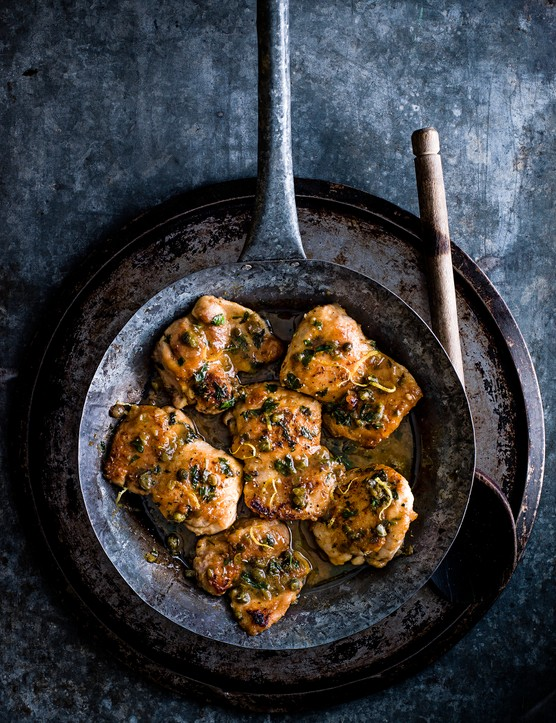 Chicken Marsala Recipe with Lemon, Caper and Caramelised Butter Sauce