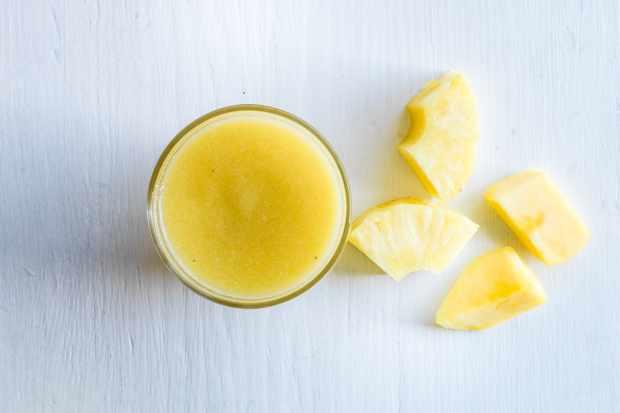 Healthy coconut smoothie