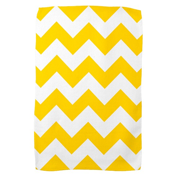 freesia_yellow_chevron_zigzag_kitchen_towels2000