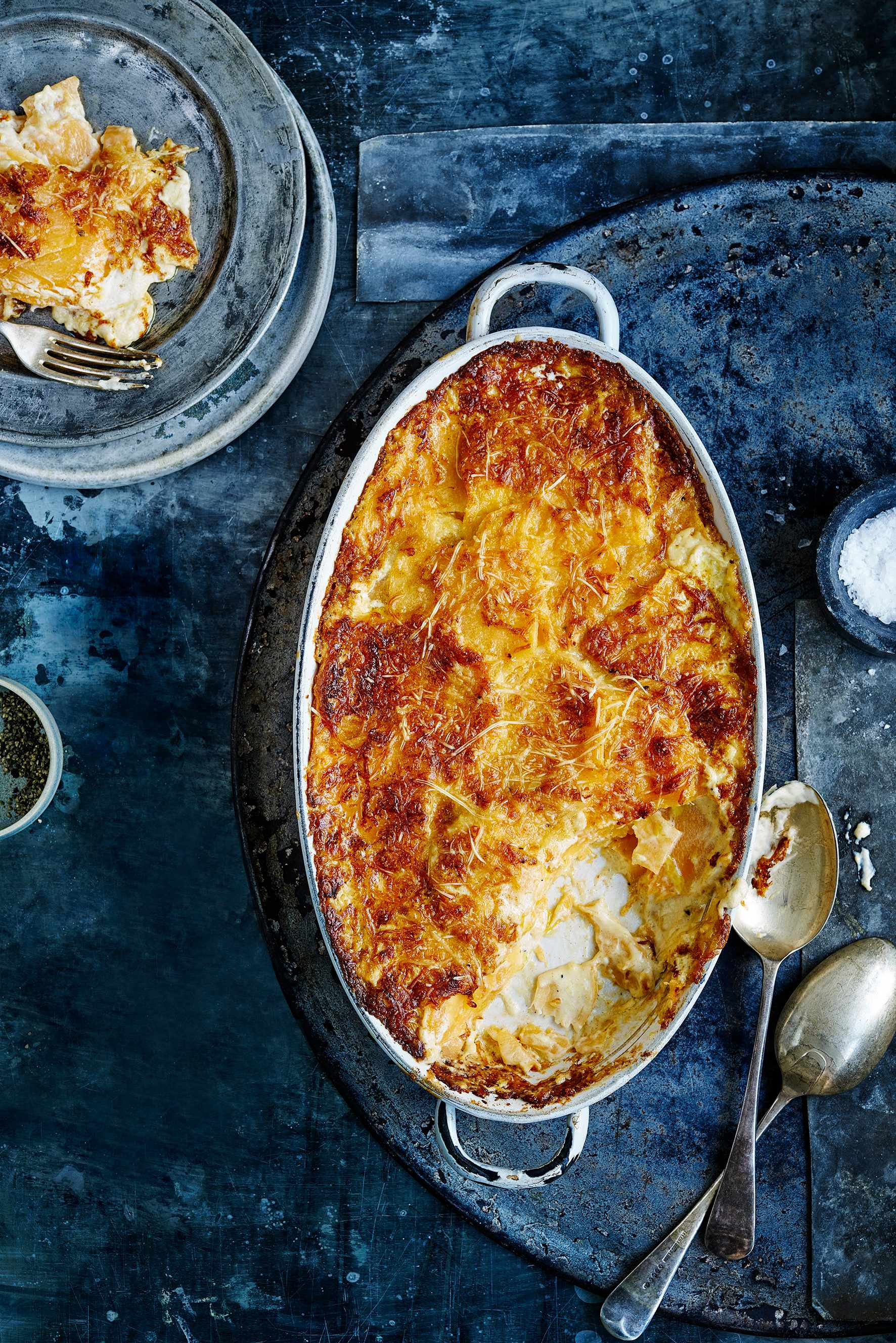 Swede And Gruyère Cheese Gratin