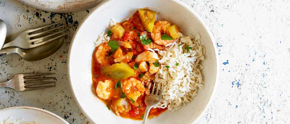 Prawn And Pepper Gumbo