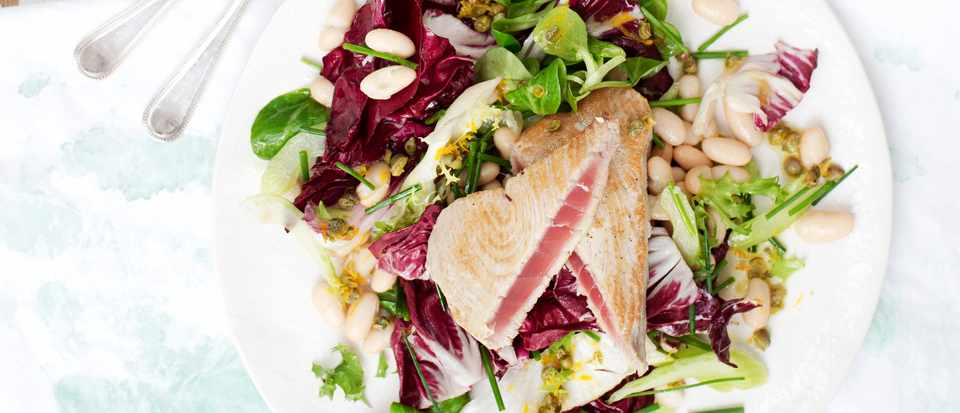 Tuna Salad Recipe with Radicchio