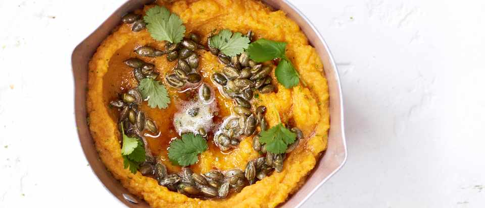 sweet potato-miso mash