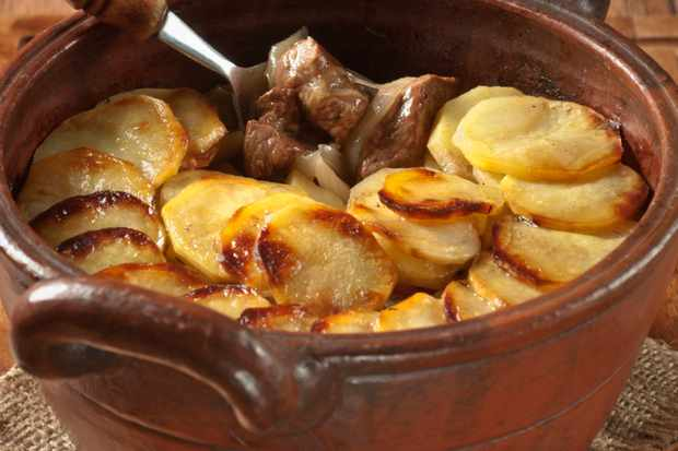 Lancashire Hotpot at Inn at Whitwell