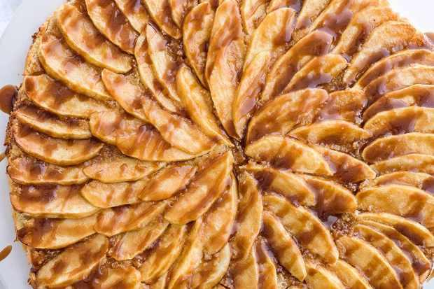 Butterscotch-Apple-tart