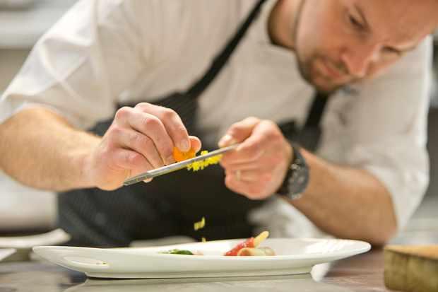 Chef Derek Bissonnette at The White Barn Inn