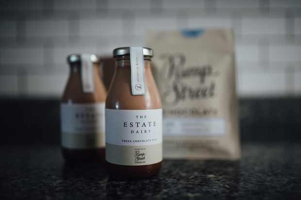 Chocolate milk the estate dairy