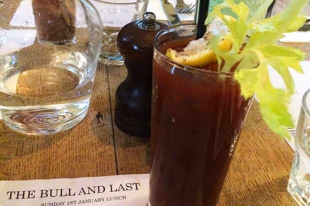 Bloody Mary at Bull and Last