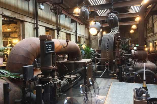 Lancashire Bowland Brewery interior