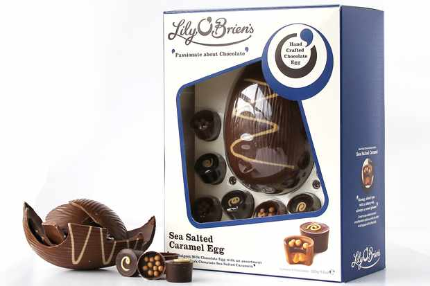 Lily O'Brien's Salted Caramel Egg