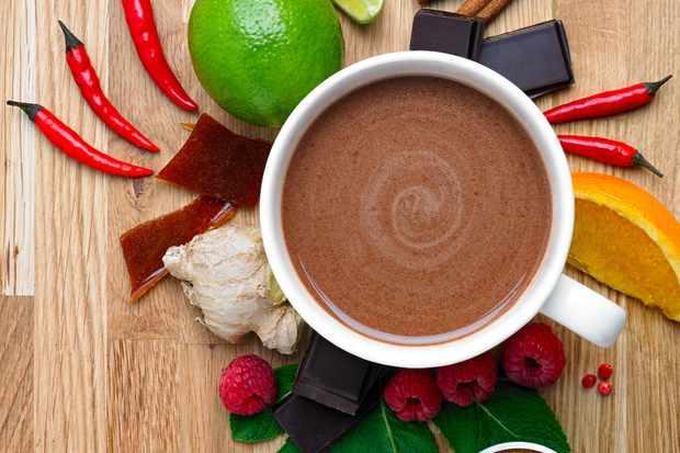 Photo (credit Kirsty Owen) - Jaz & Jul's hot chocolate 1