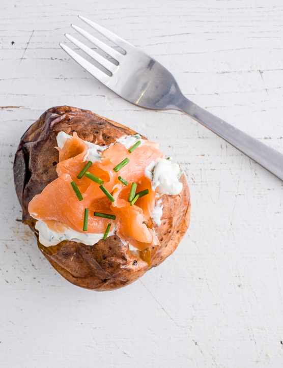 Salmon potato