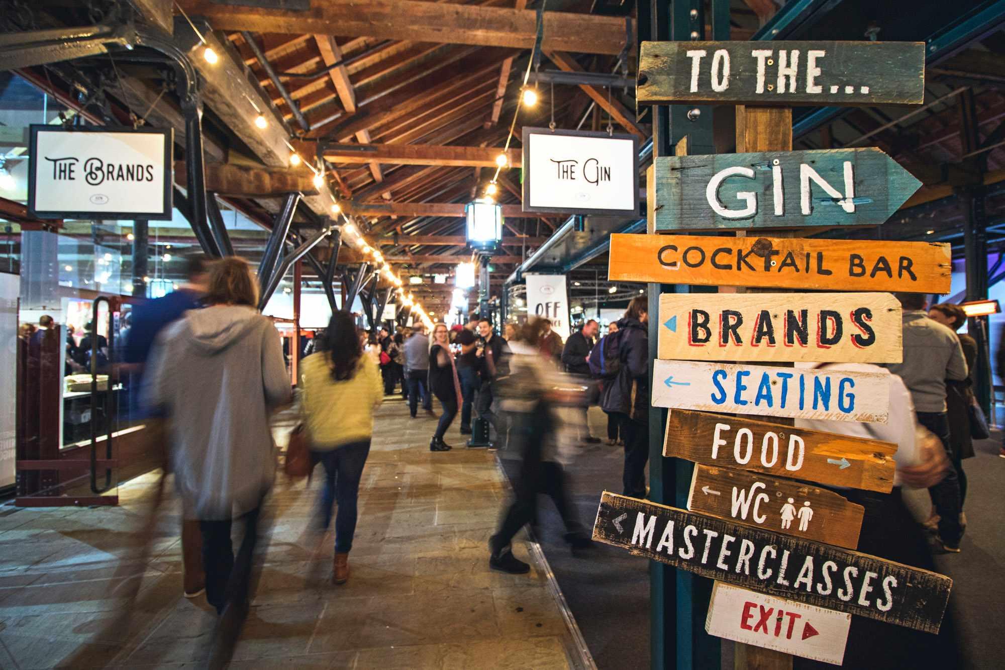 Gin Festival Tobacco Dock London