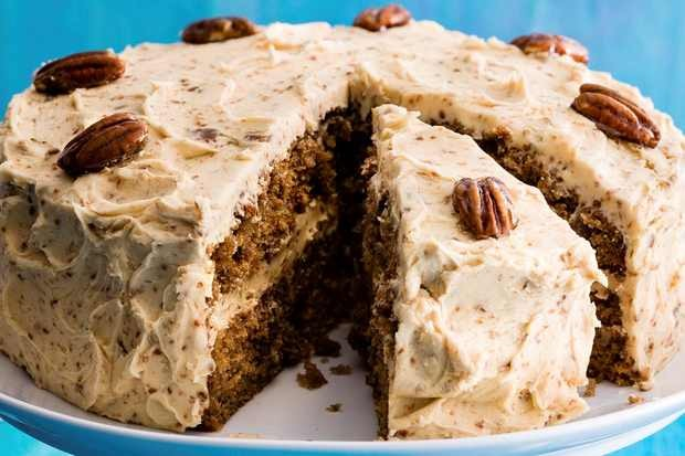 coffee cake with pecan brittle recipe