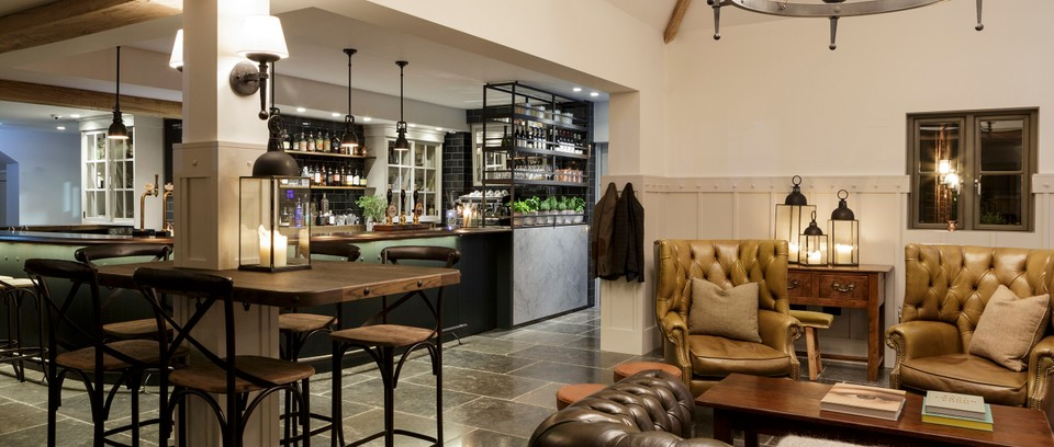Image result for restaurant with bar seating berkshire""