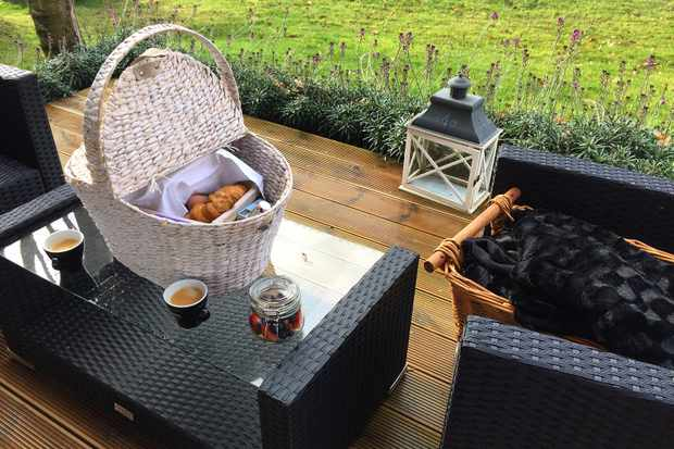 Tinwood Estate Lodges Breakfast Hamper