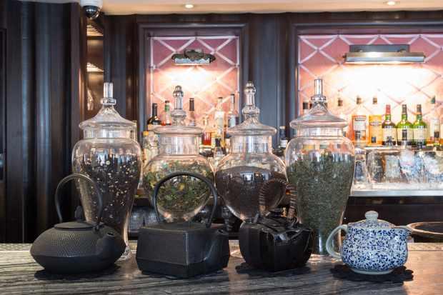 The Luggage Room, tea selection
