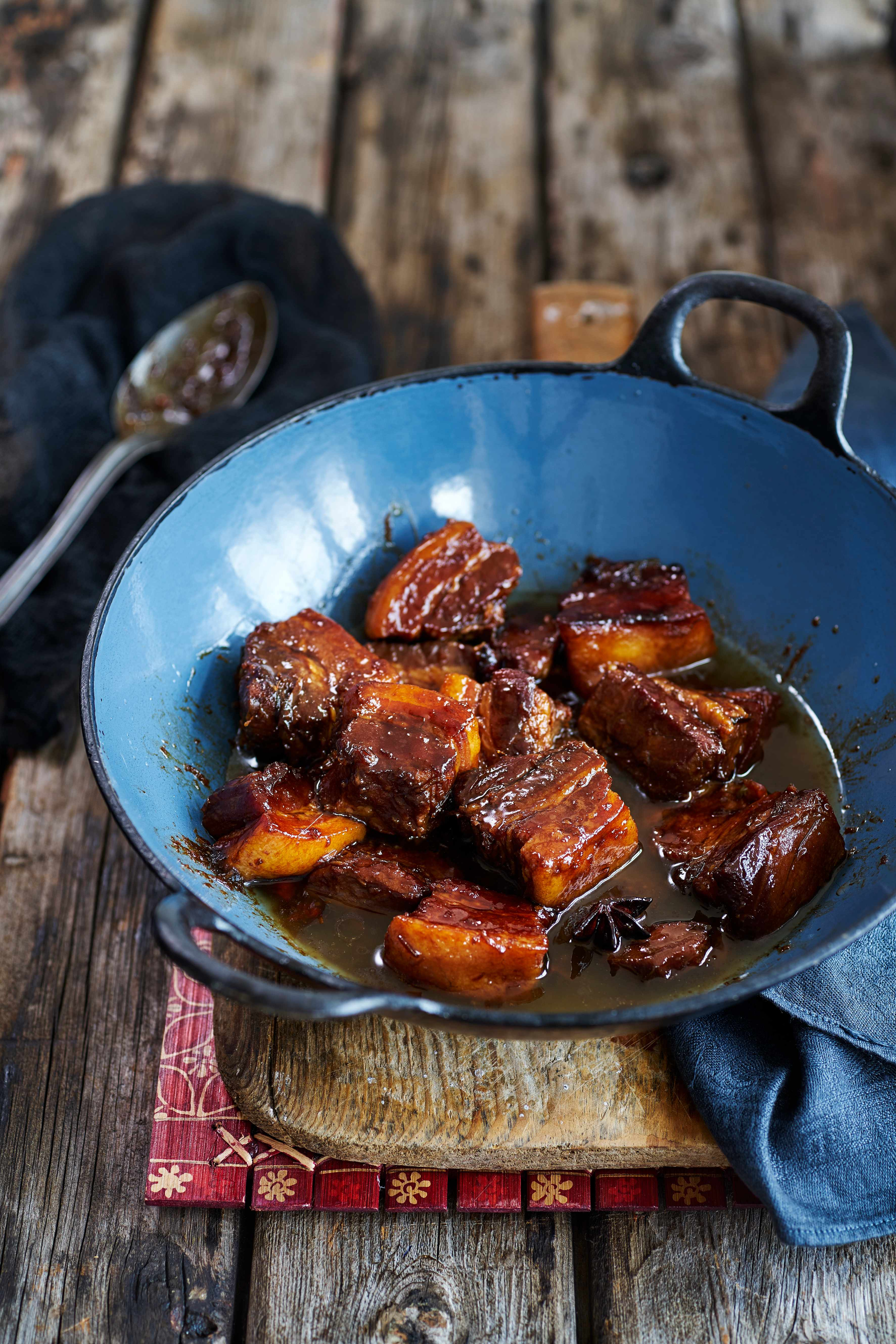 Twice-Cooked Chinese Pork Belly Recipe
