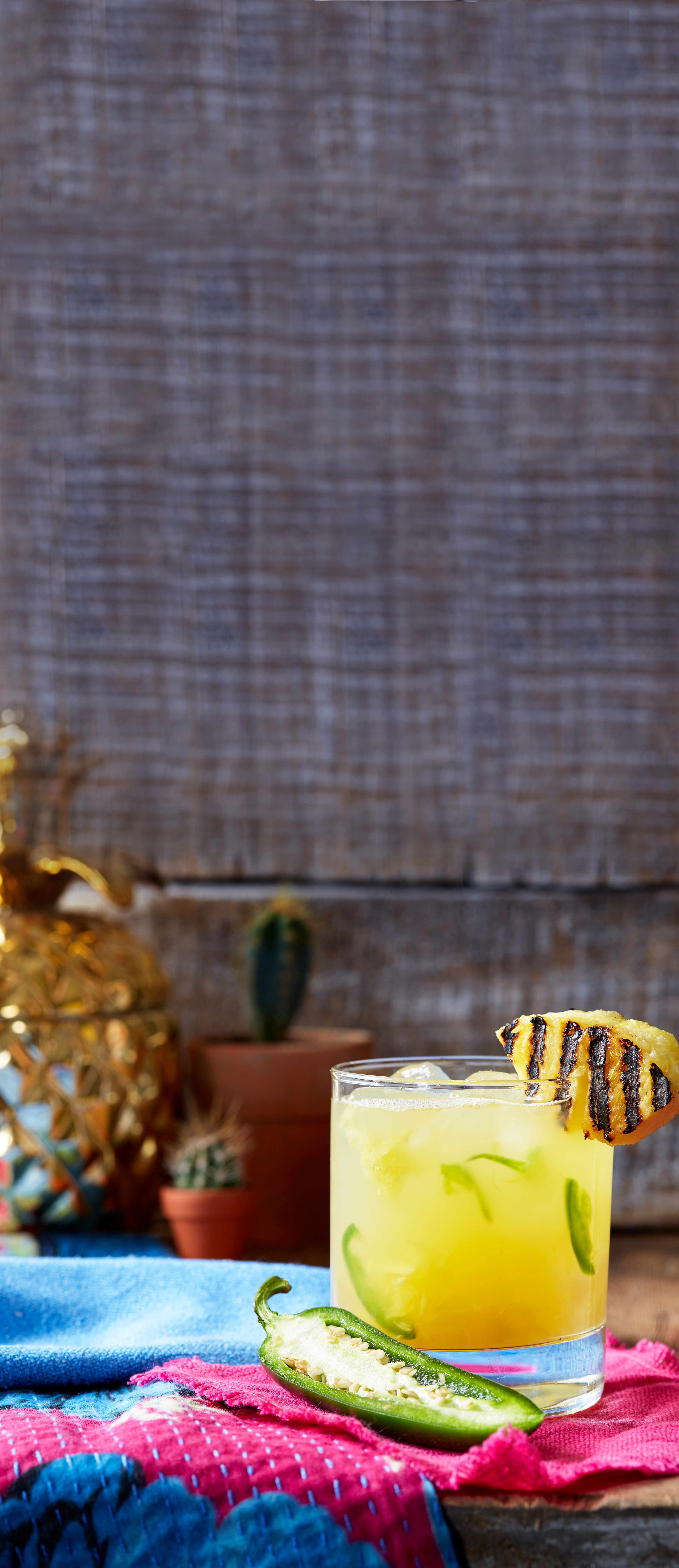 Mezcal Cocktail Recipe with Pineapple And Jalapeño