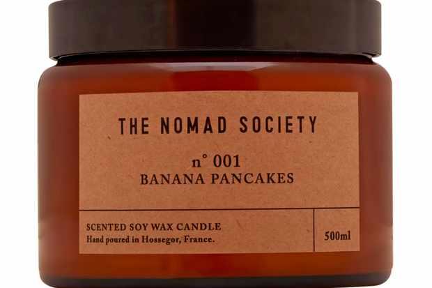 Nomad Society Banana pancakes candle