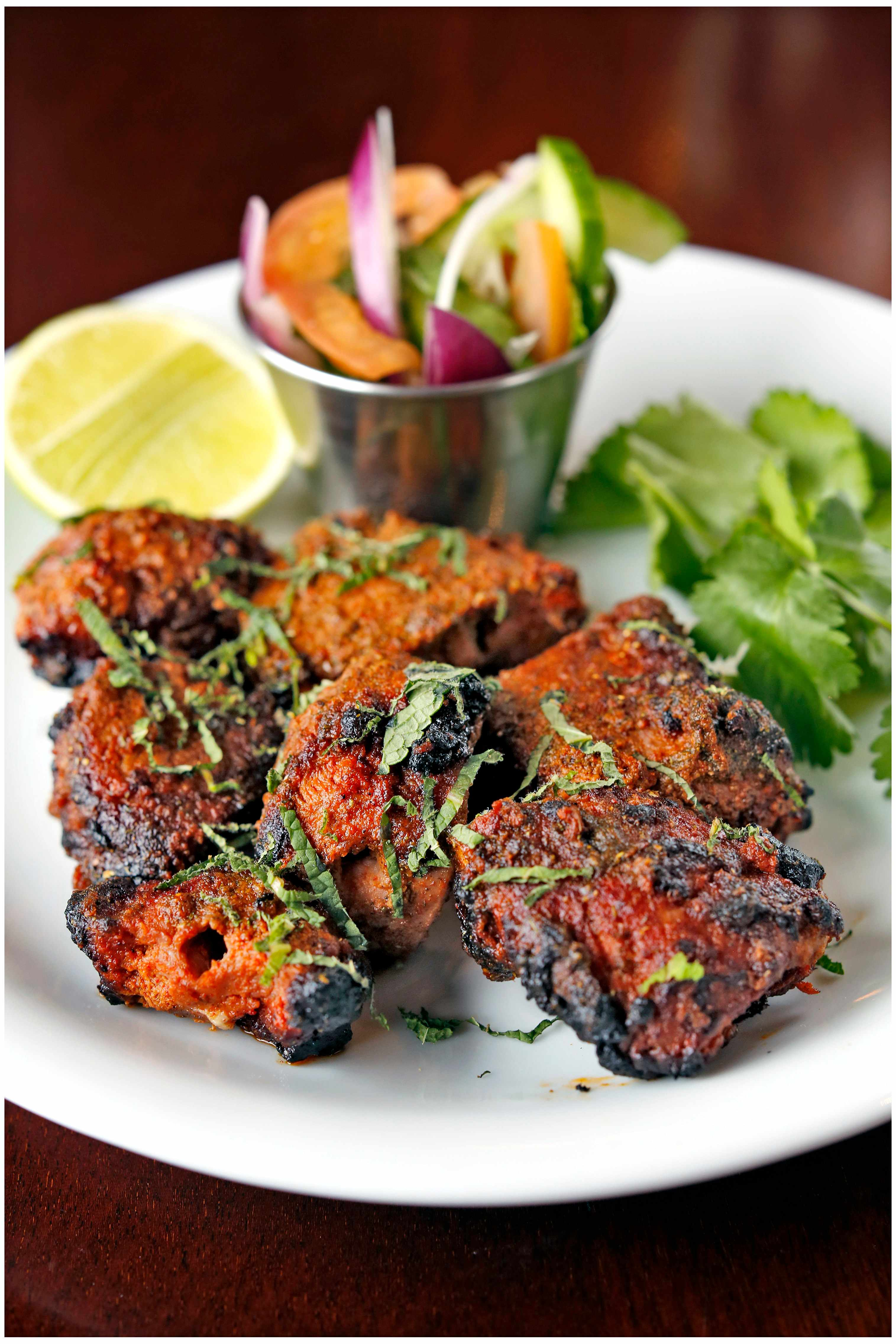 Dishoom lamb boti kabab
