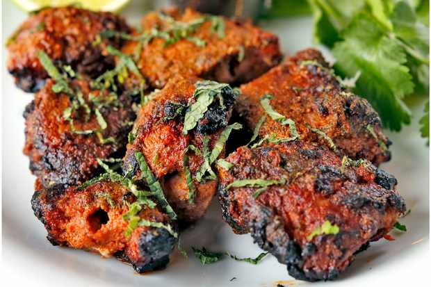 Dishoom lamb boti kabab