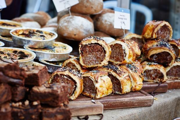 Malton Food Festival – sausage rolls