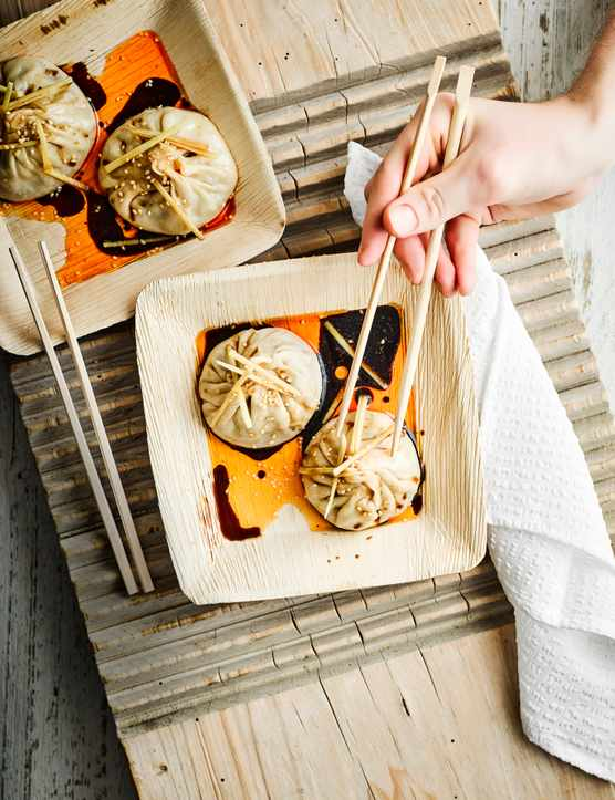 Chinese Soup Dumplings (Sheng Jian Bao)