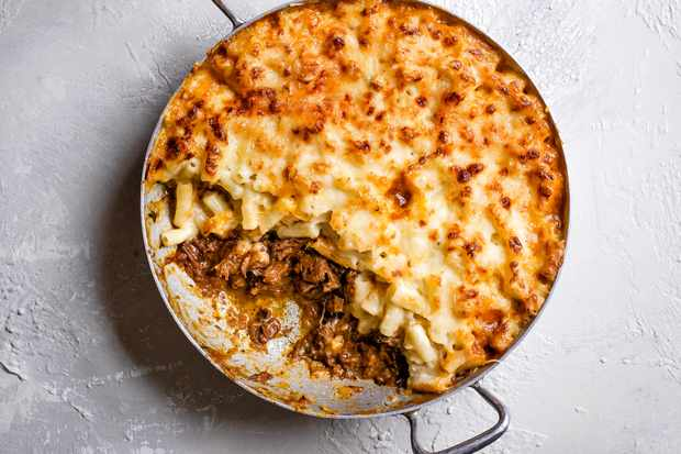 Mac And Cheese Recipe With Rich Beef Ragu